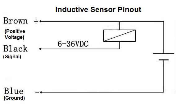 Inductive Proximity Sensor Pinout Sensor Diagram Circuit