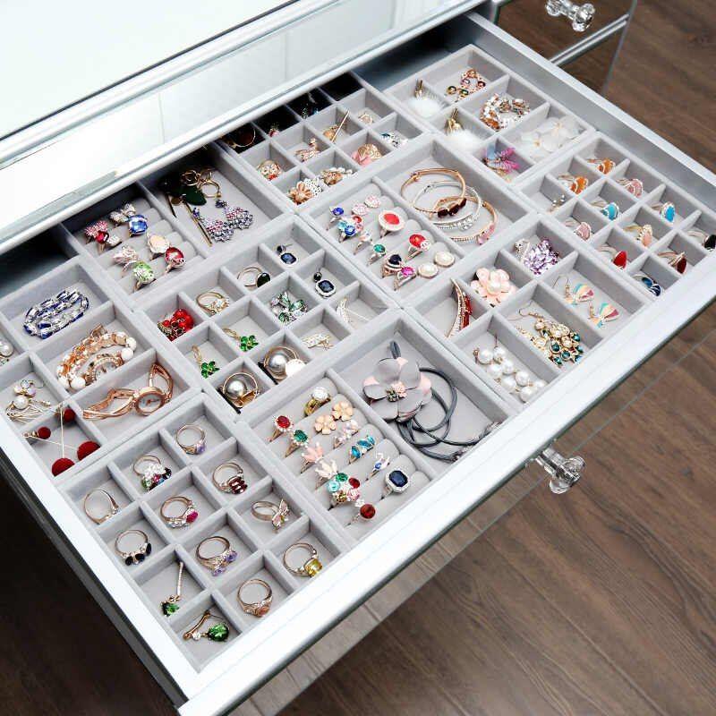 Rangement Boucle D Oreille Bijoux Storage Boite Affichage Presentoir Acrylique