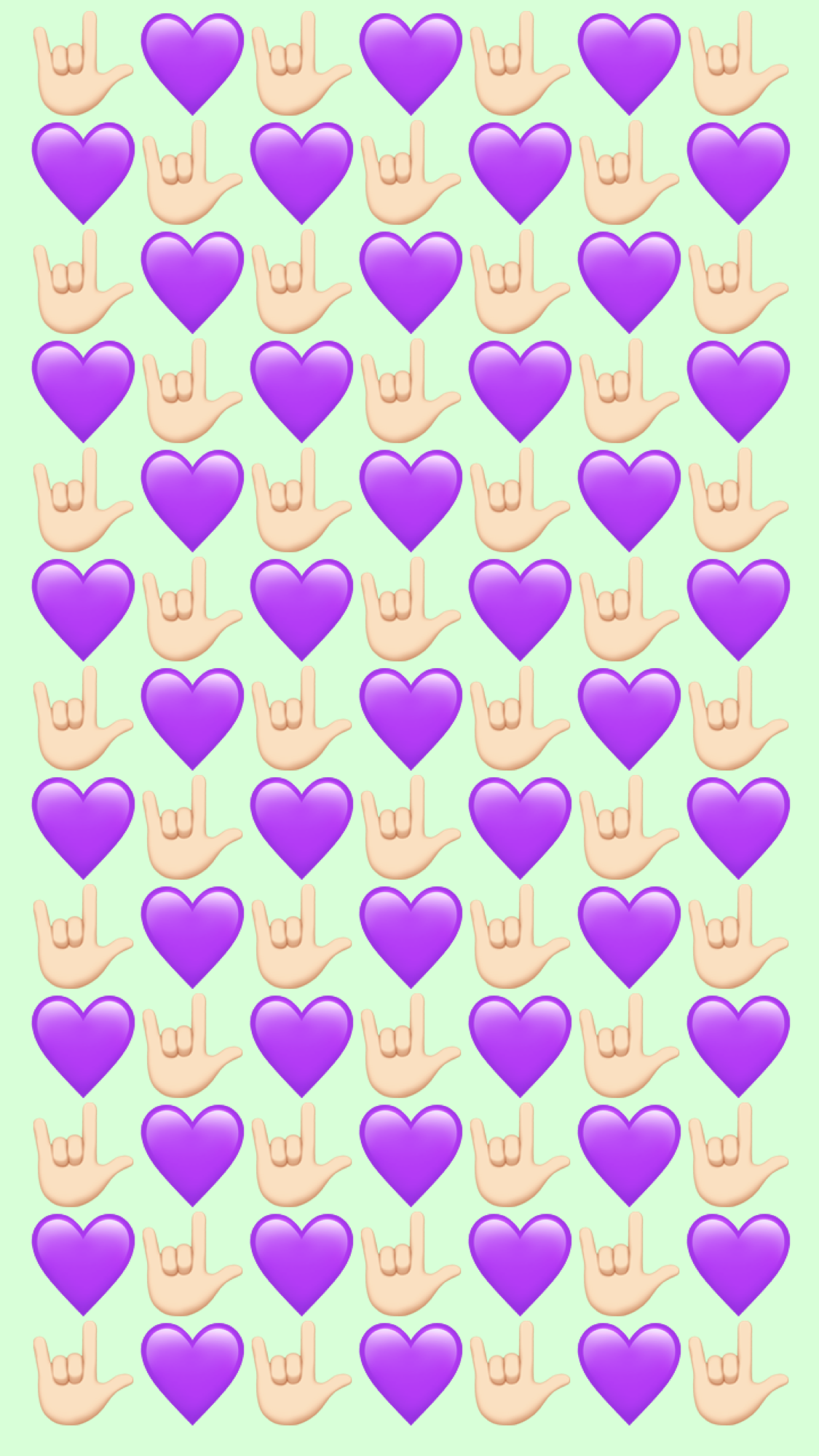 Wallpaper Iphone Purple Heart Flower Phone Wallpaper Wallpaper Iphone Cute Emoji Wallpaper