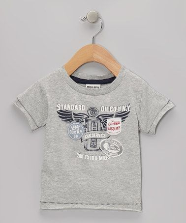Take a look at this Gray Cars Tee - Infant, Toddler & Boys by Mish Mish on #zulily today!
