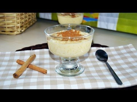 Rice Pudding With Sweetened Condensed Milk Quick Easy Rice Pudding Recipe Youtube Rice Pudding Recipe Easy Pudding Rice Pudding
