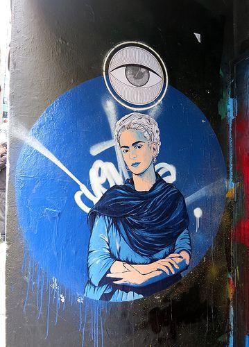 Hosier Lane Stencil by Vexta