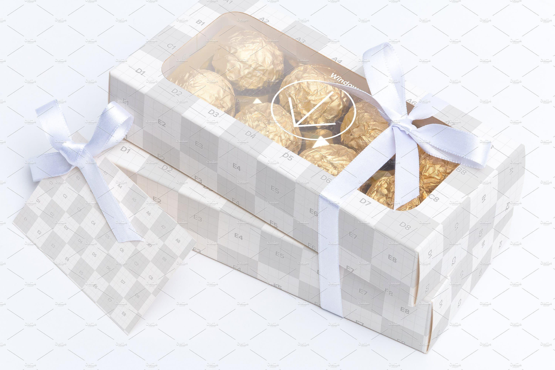Download Sweet Box Mockup 08 Box Mockup Sweet Box Small Cards