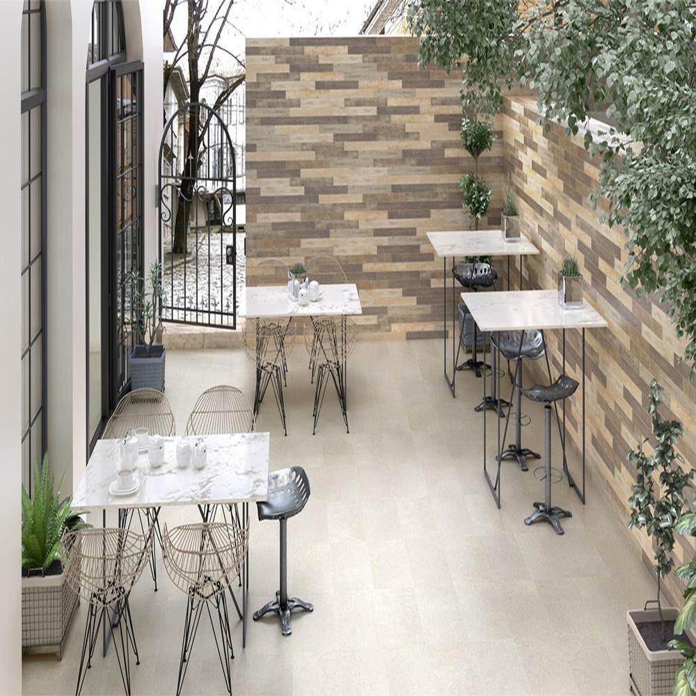Wood Roble 7.5 x 60cm Wood effect tiles, Ceramic floor