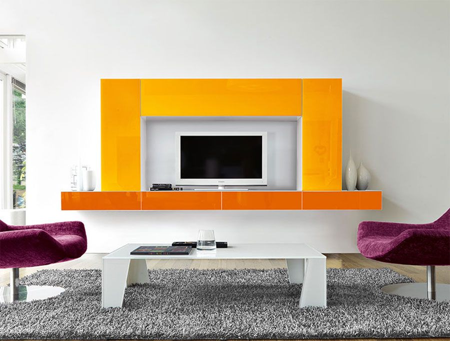 Pareti Attrezzate Moderne 54 | C 電視櫃 | Pinterest