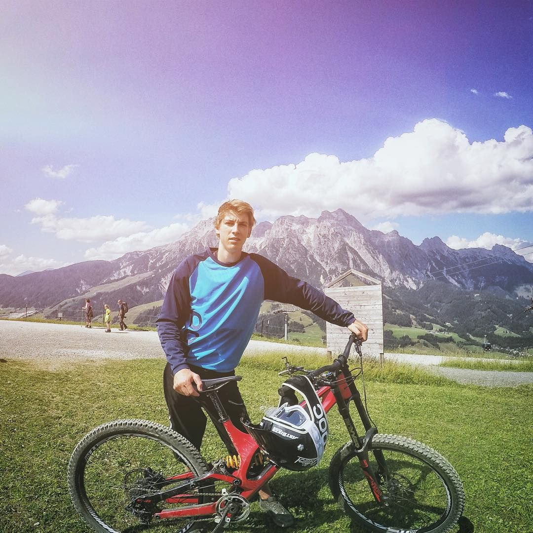 Fabio Wibmer On Instagram Awesome Day Here In Leogang Thanks Dolmitebike And Specialized Sworks Gopro Mtb Bike Bmx Downhill Bike