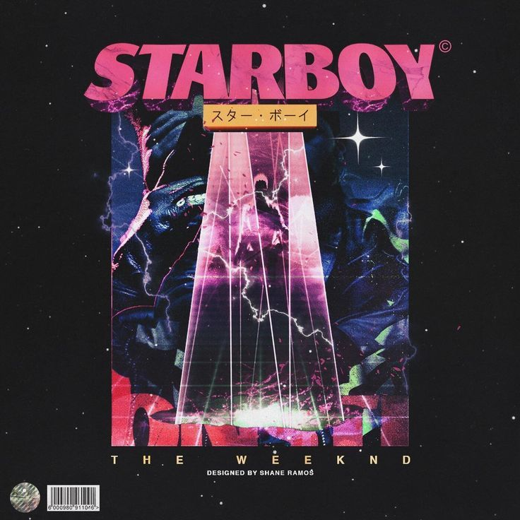 The Weeknd Starboy FanArt by Shane Ramos in 2020 Cover