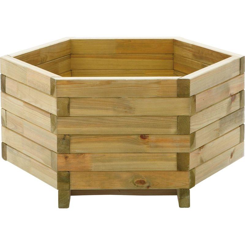 Wooden Planters Homebase