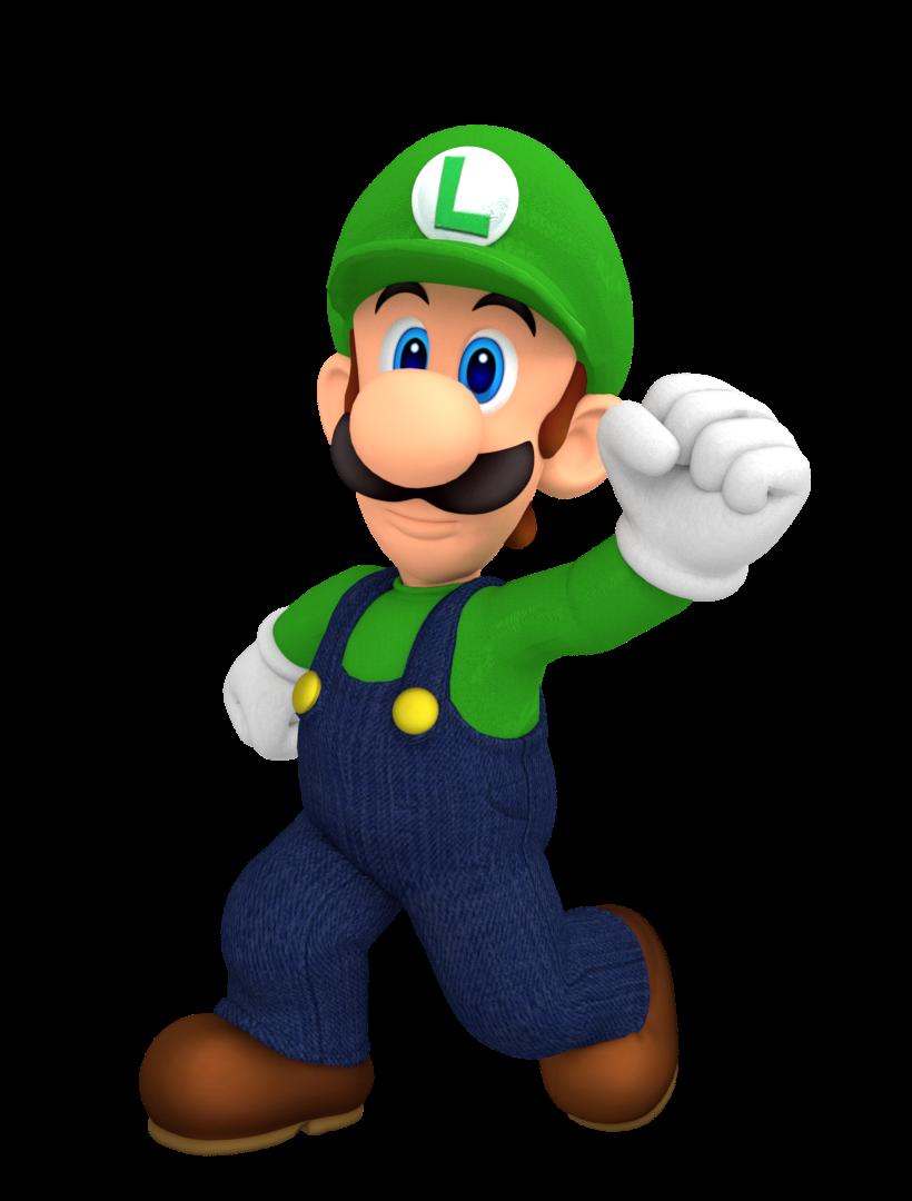 Luigi Render By Nintega Dario On Deviantart Luigi Super Mario Super Mario Bros
