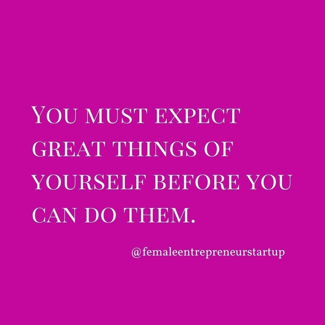 Are you expecting great thing from yourself? Double tap if you agree.