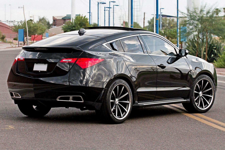 Honda Crosstour Vossen >> vossen vvscv1 machined black ss lip acura-zdx...SoDope!!! | WhipitRealGood!!! | Pinterest | Cars ...