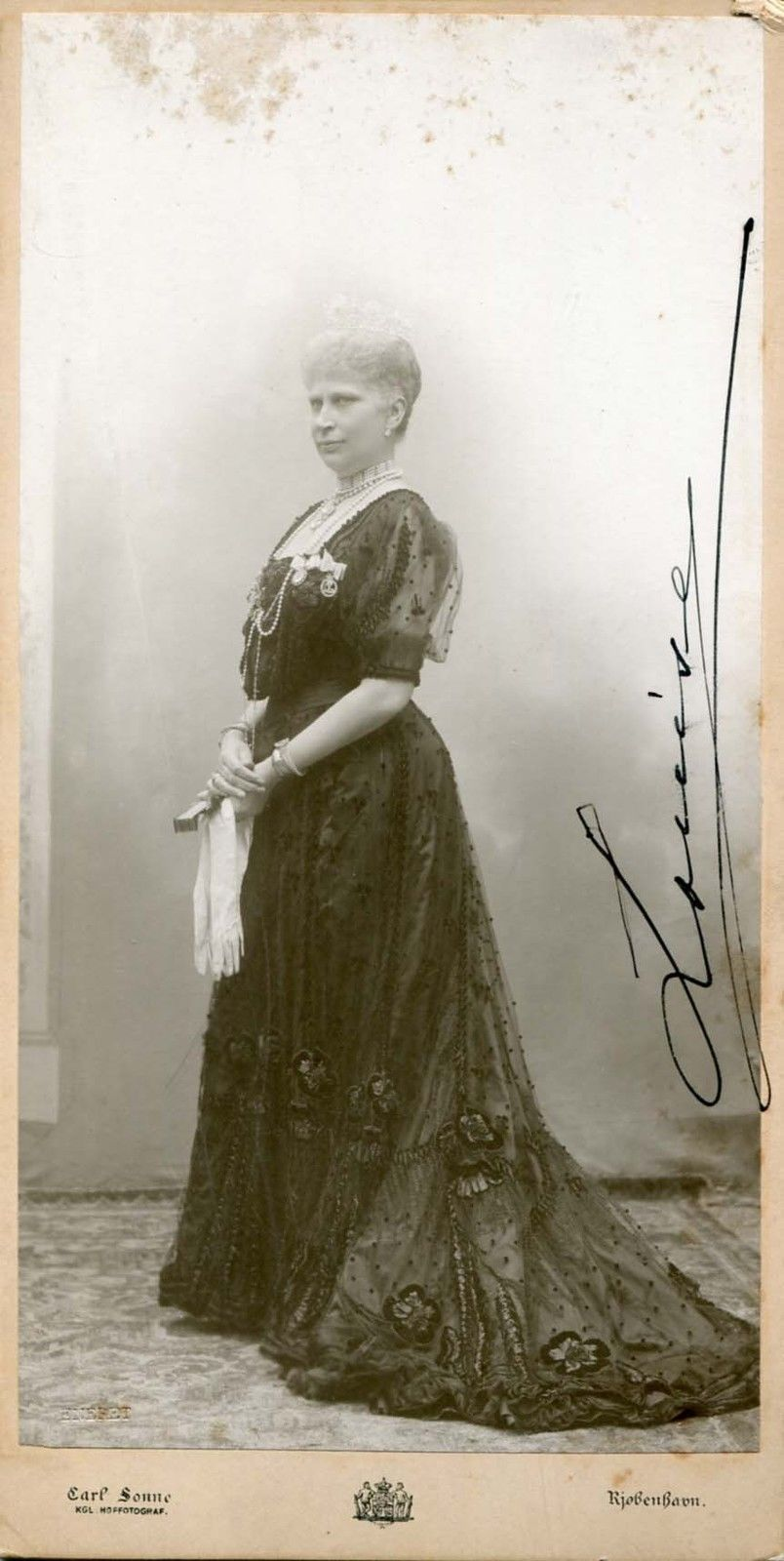 Queen Louise OF Denmark Autographed Cabinet Photo | eBay