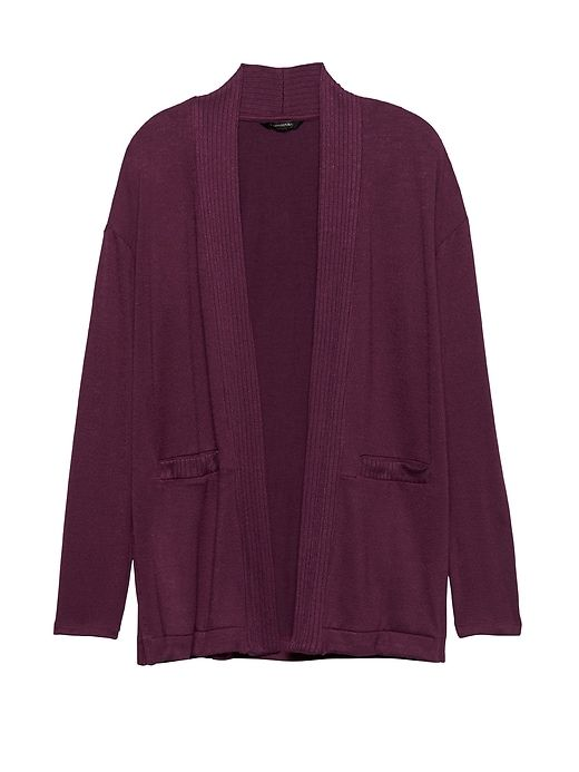 big clearance sale outlet online for sale Banana Republic Womens Luxespun Long Cardigan Heather Maroon ...