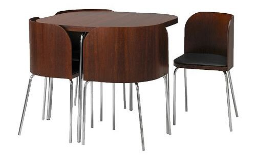 Ikea Fusion Small Spaces Dining Table And Chairs Set Space