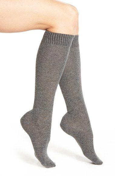 Nordstrom Merino Wool Blend Knee Socks