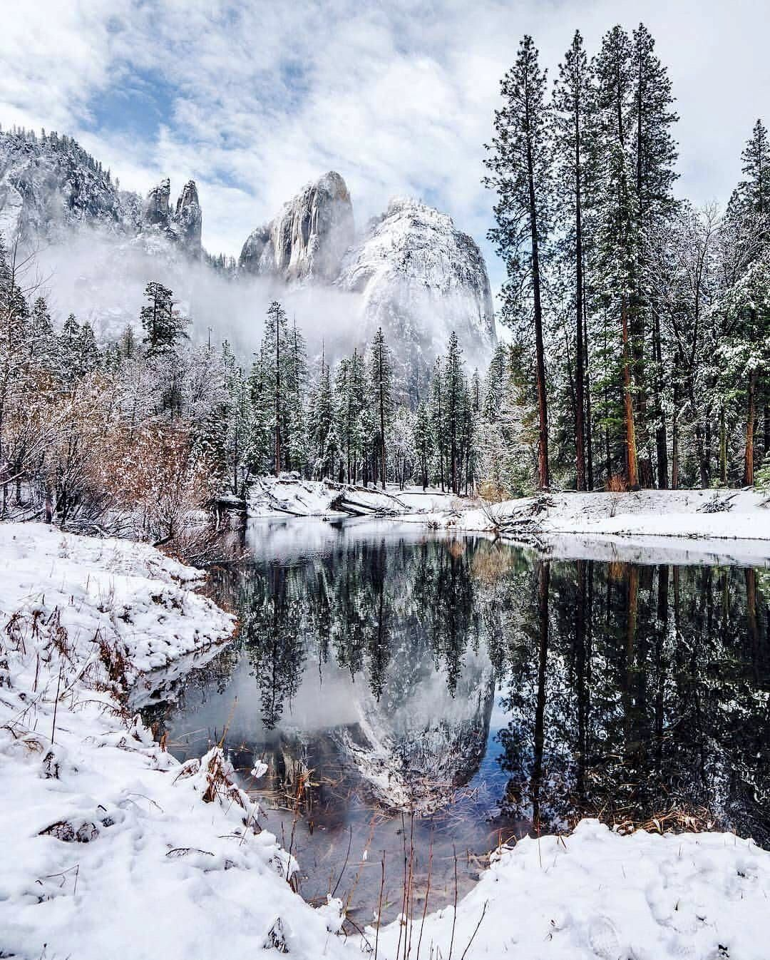 Yosemite in winter (California) by Andy Best (@andy_best) on ...