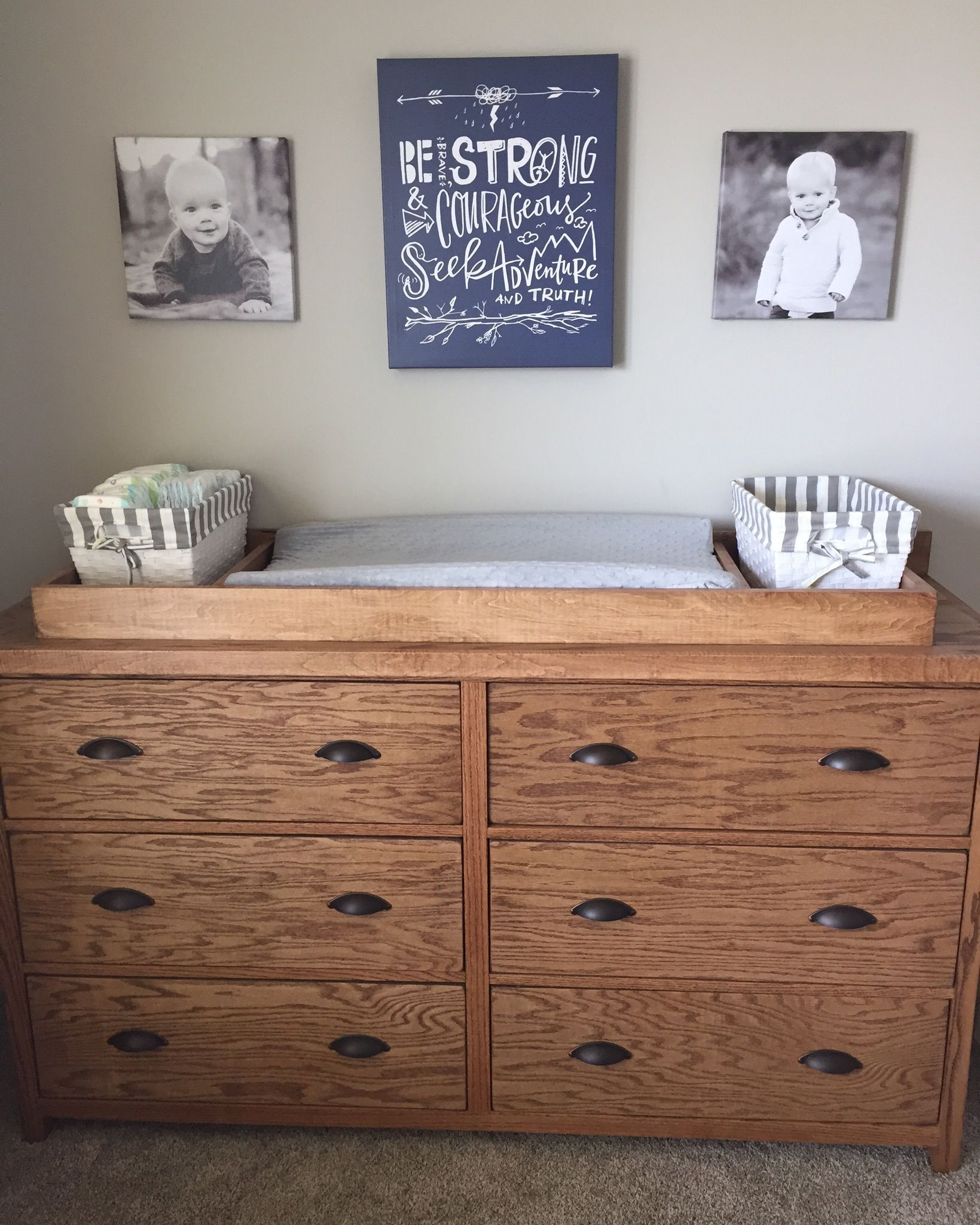 Ana White Dresser With Removable Changing Station Topper Diy Projects Diy Changing Table Baby Bedroom Ideas Neutral Nursery Dresser Diy