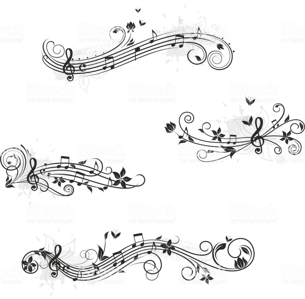 Photo of Music set of design elements. You could find more music here: