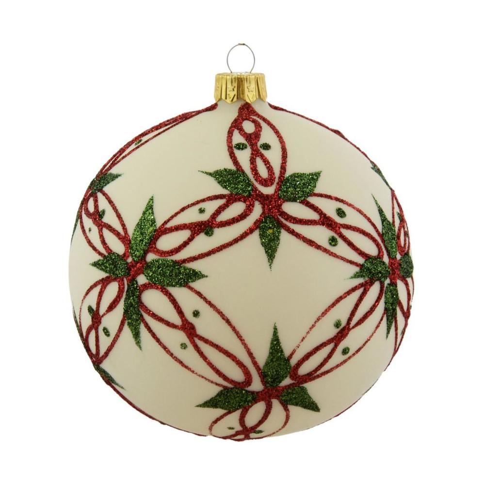 Bombka Szklana 10 Cm 1 Szt Recznie Dekorowana Mix Bombki I Ozdoby Choinkowe W Atrakcyjnej Cenie W Sklepa Christmas Bulbs Christmas Ornaments Holiday Decor