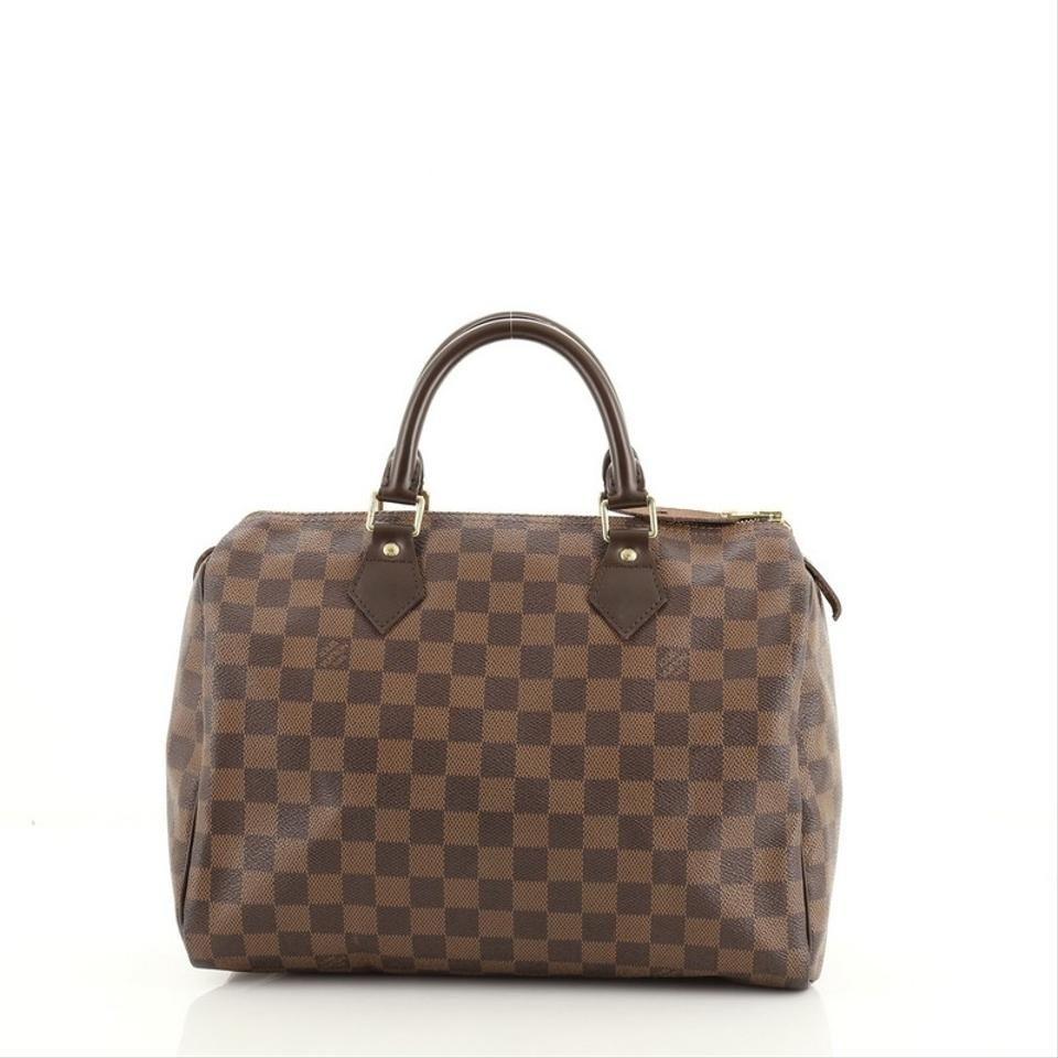 Louis Vuitton | Speedy Handbag Damier 30 Brown Coated Canvas Weekend/tra