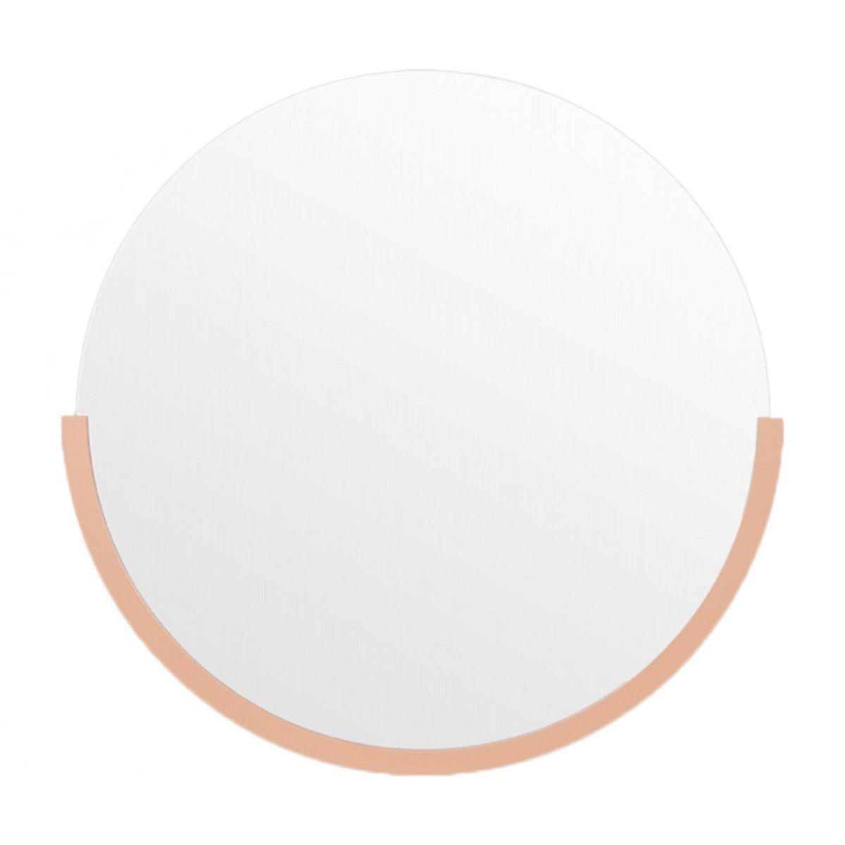 Dawn Round Mirror (Desert, 61.5 x 63cm)