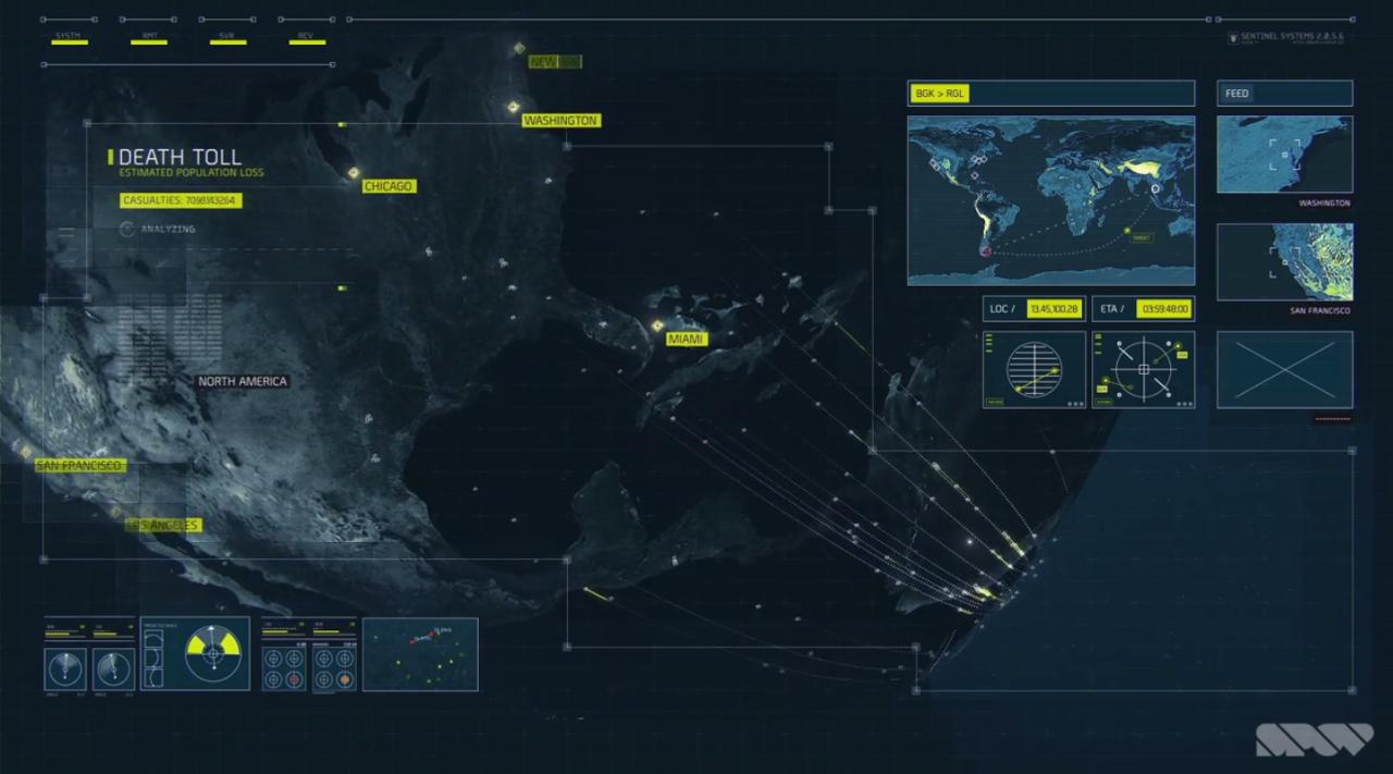 Call Of Duty Advanced Warfare Interface Designs Work By Spov Data Visualization Design Navigation Design User Interface Design