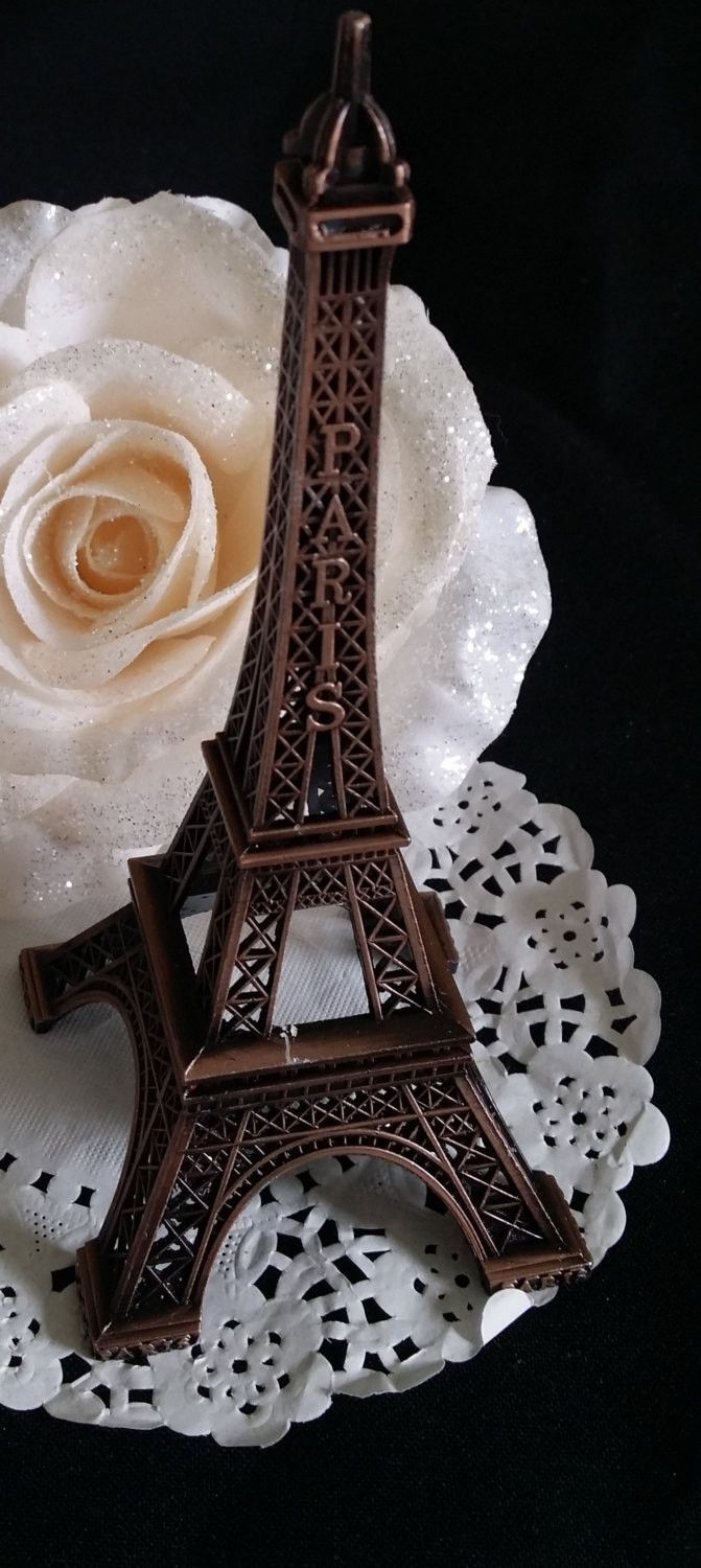 paris wedding cake topper eiffel tower figurines eiffel tower cake topper 18118