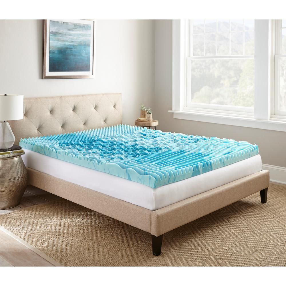 king size cooling mattress topper 3 in. Twin XL Gellux Gel Memory Foam Mattress Pad | Products  king size cooling mattress topper