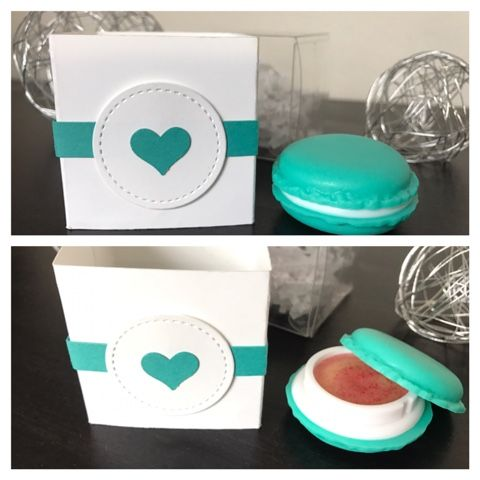STAMP A STAR: Macaron und Lippenbalsam