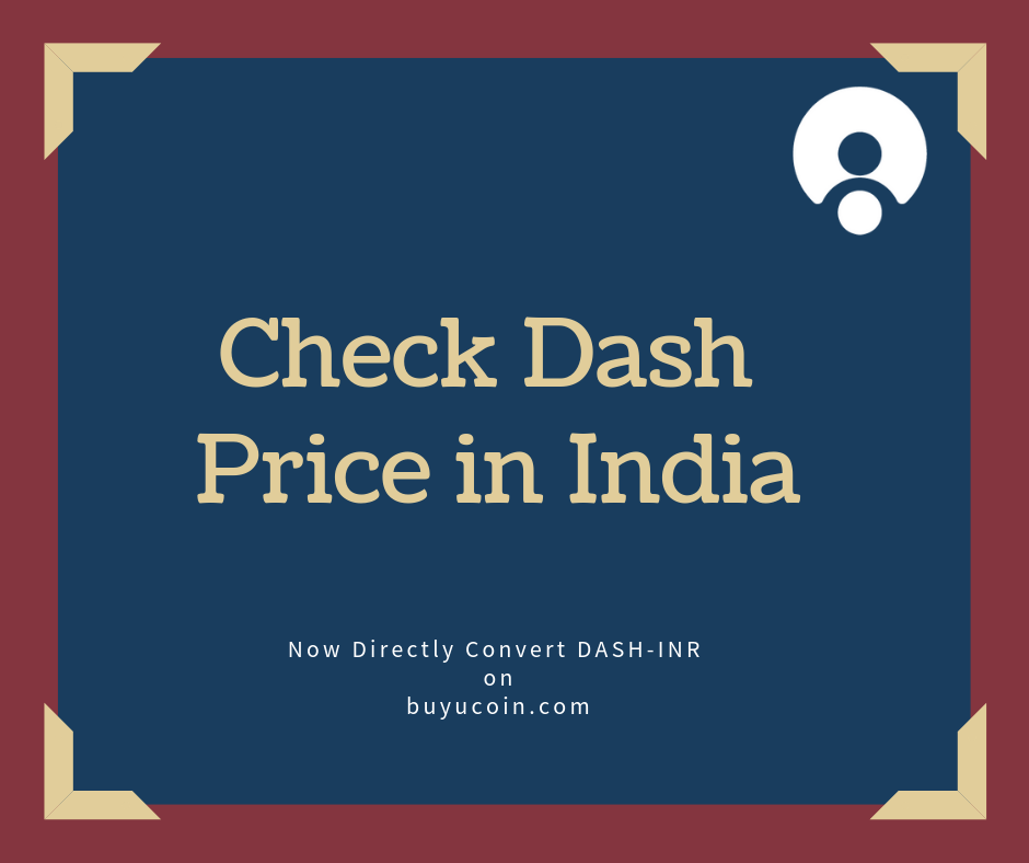 dash cryptocurrency price in india