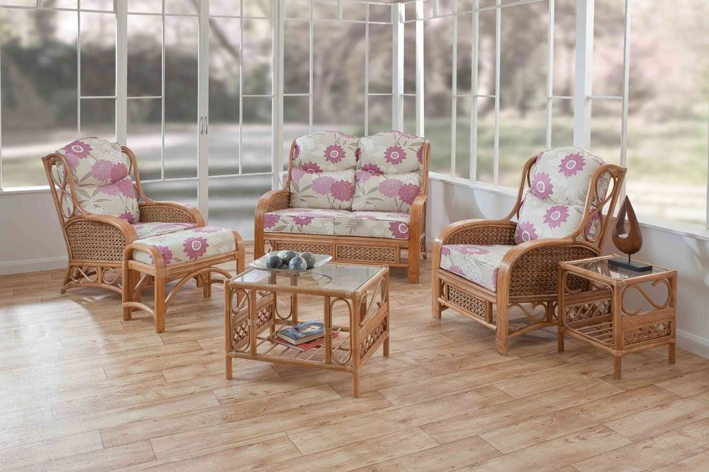 Picture Of Small Table Cane Chairs Set
