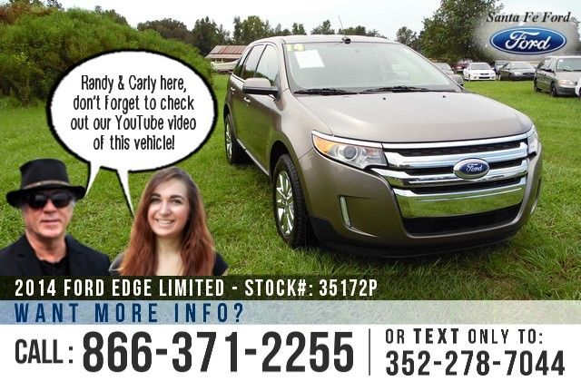 2014 Ford Edge Gainesville Fl Miles 30 500 Stock 35172p