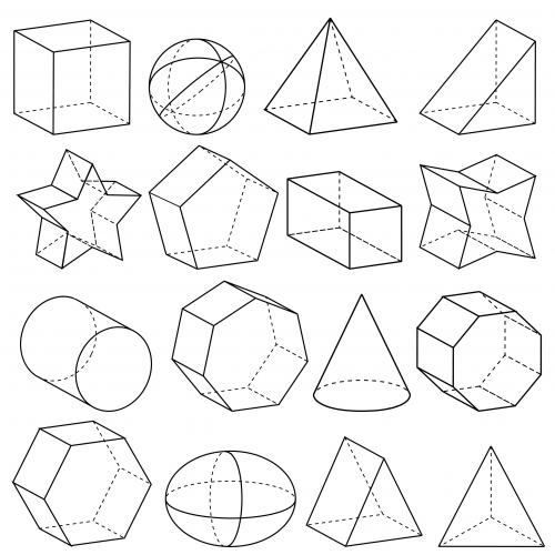 Geometry 3d Shapes Kidspressmagazine Com Geometric Drawing 3d Geometric Shapes Geometric Shapes Drawing