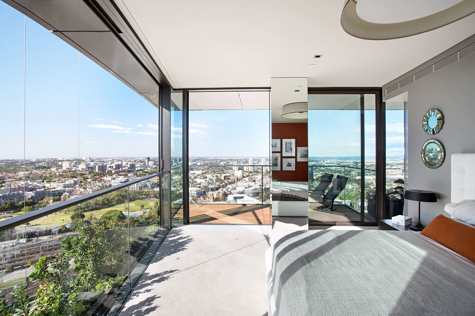 Sky At One Central Park Penthouse Apartments Picture Gallery Architecture Interiordesign Panoramic View Naturale