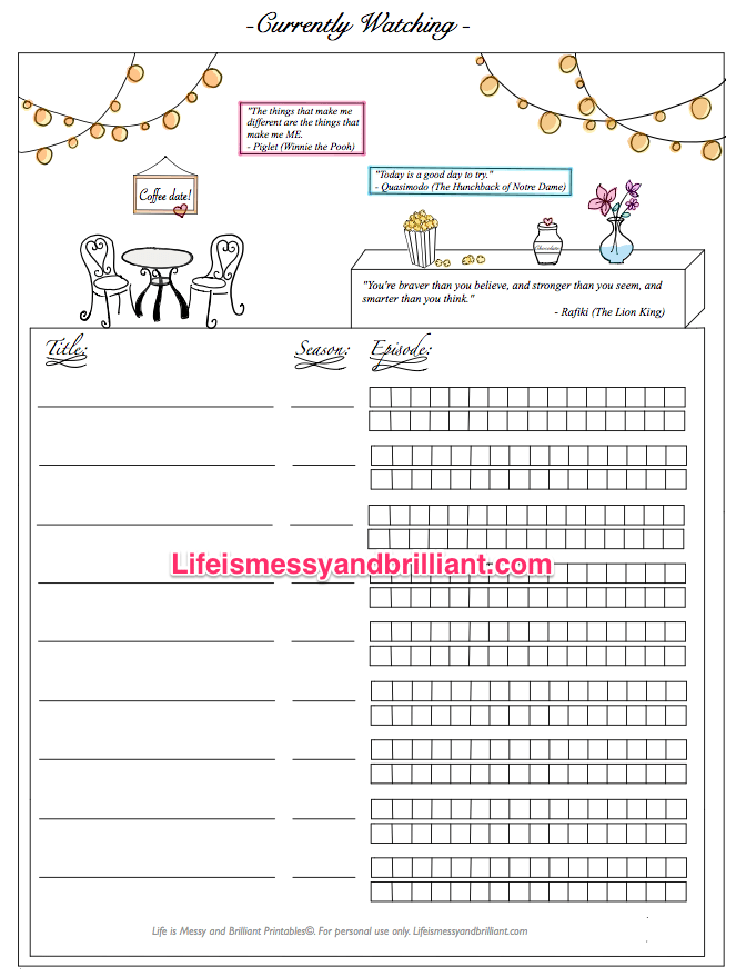 graphic relating to Printable Bullet Journal Pages identified as Cost-free Bullet Magazine Printables company Bullet