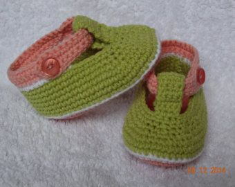 Crochet baby shoesbaby bootieshandmade by galiacrochet on Etsy