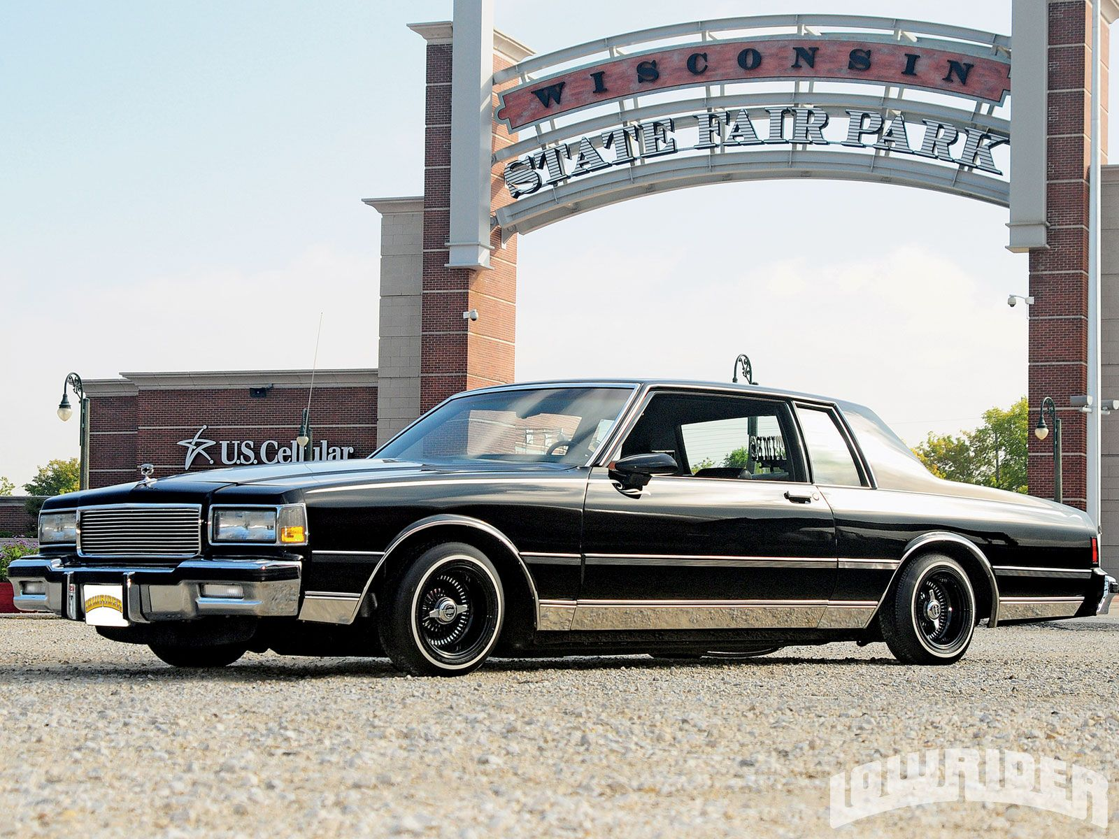 This 93' Cadillac Fleetwood caught my eye. Can you feel me?  Just ballin in this car...