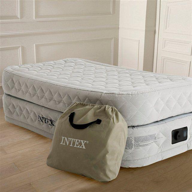 Lit D Appoint Gonflable Confort Supreme 1 Personne Intex Lit D Appoint Lit Gonflable Matelas Et Sommier