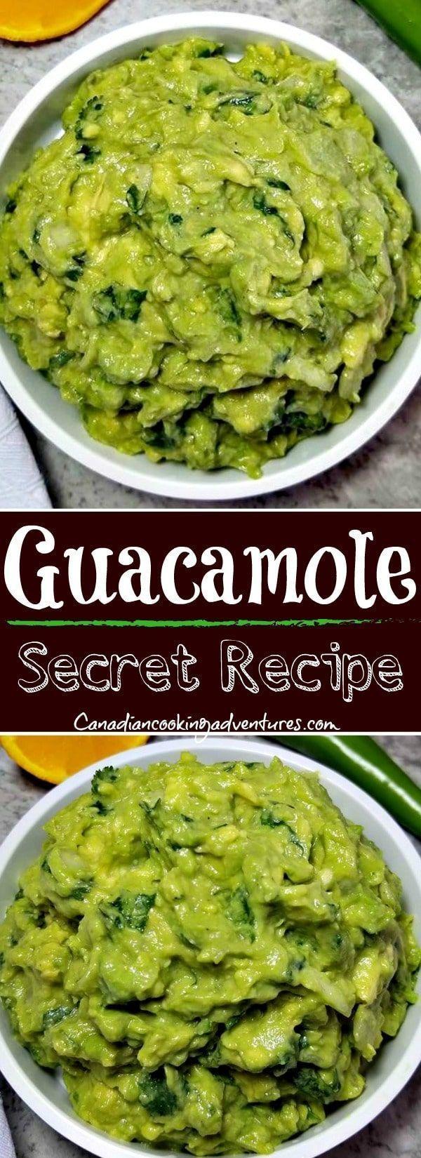 Best Homemade Guacamole Best Homemade Guacamole (SECRET INGREDIENT)#Canadiancookingadventures