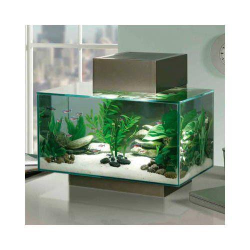 acuario fluval edge litros