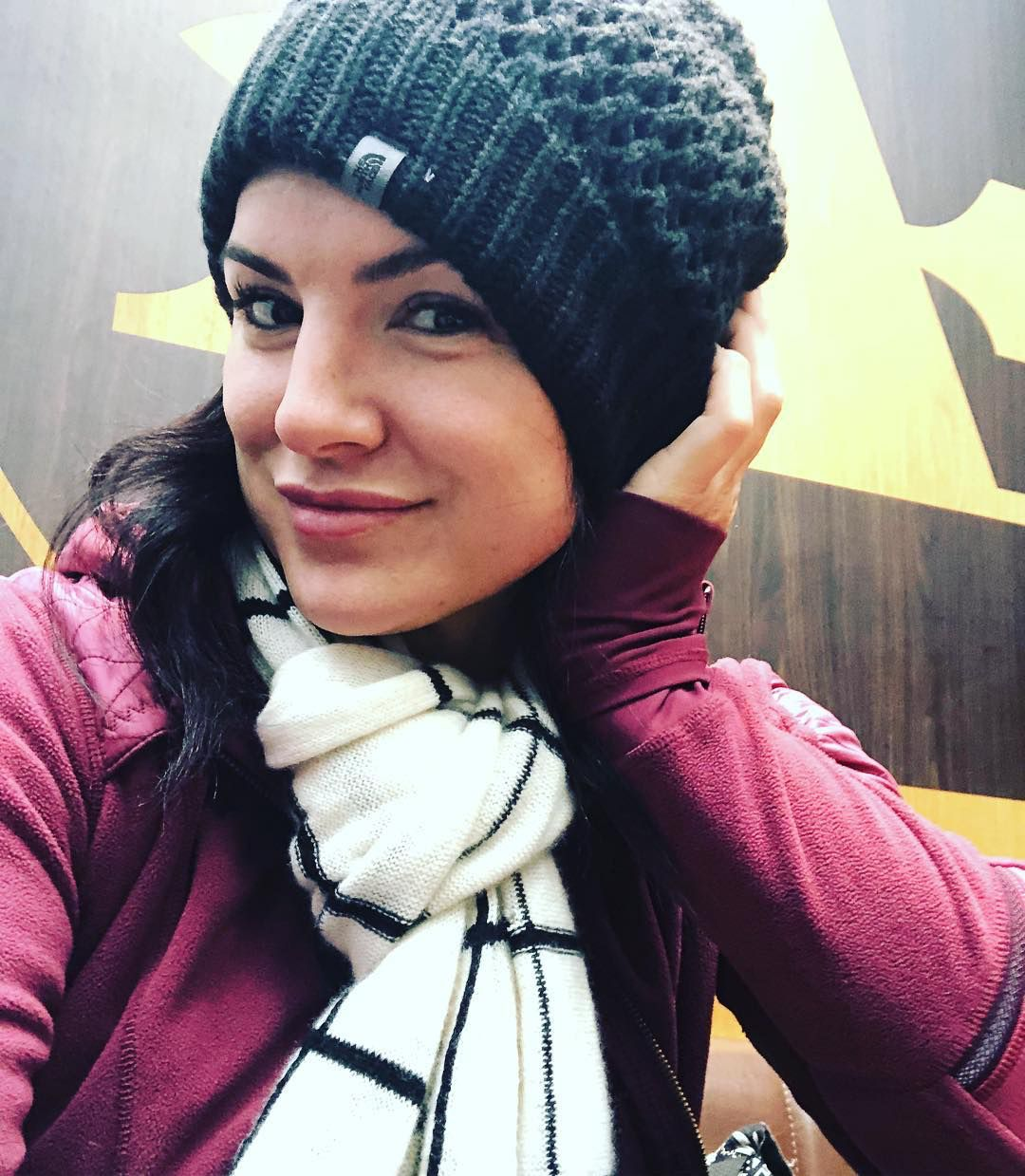 Gina Carano (Instagram). | Turn ons, Women, Winter hats