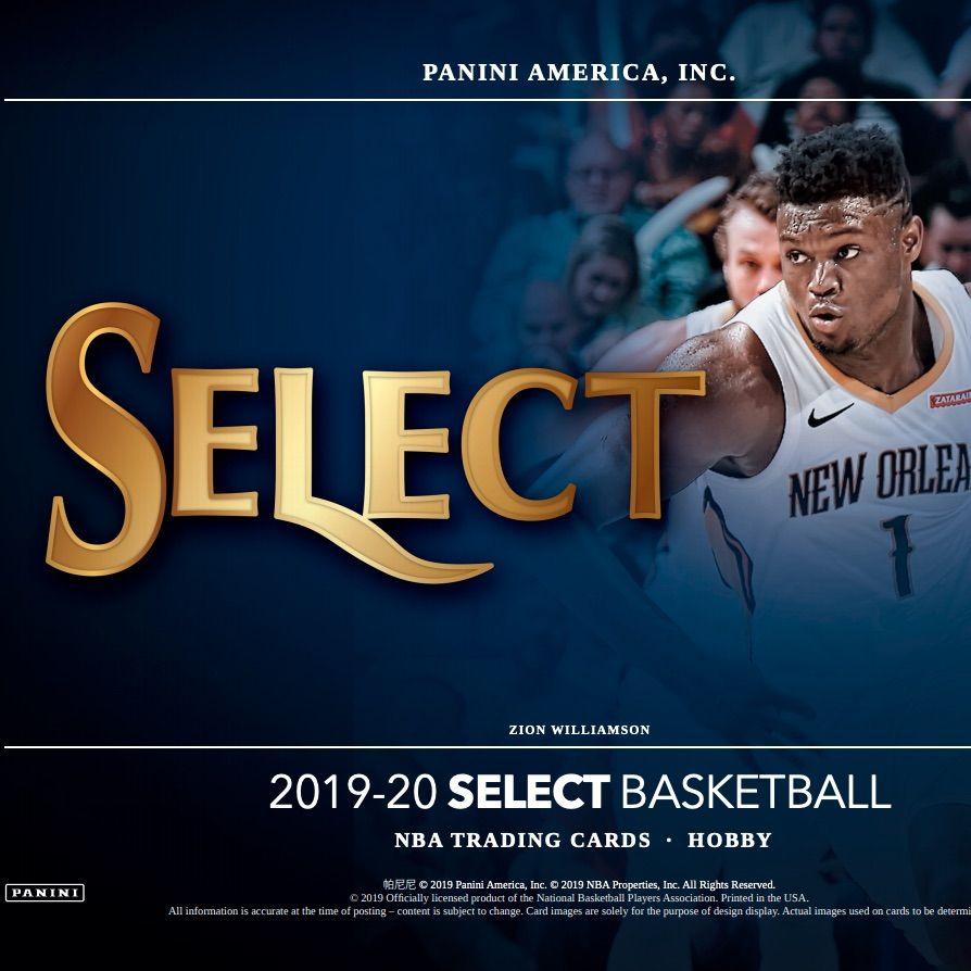 2019 20 Panini Select Basketball Checklist Boxes Set Info