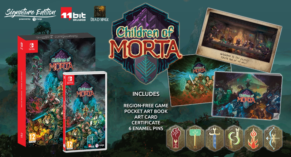 Children of Morta Signature Edition (Switch) Card art