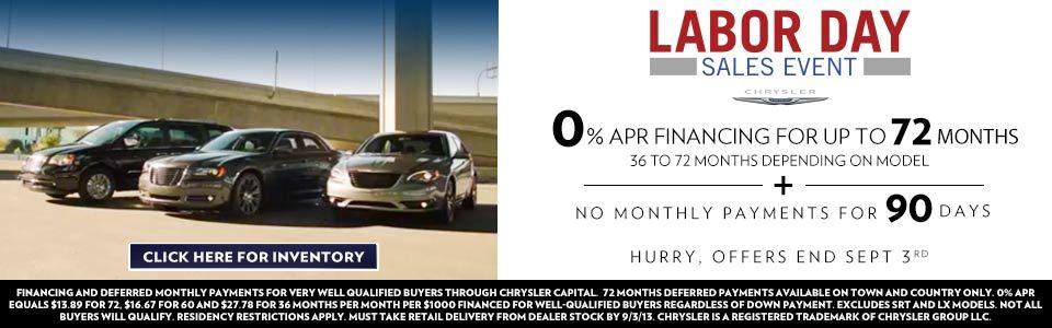 Labor Day Sale New and Used Car Dealer Nashville
