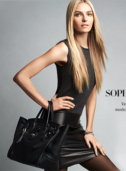 Fall - tis the season for leather!