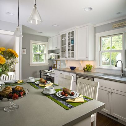 Best Benjamin Moore Stonington Gray Grey Kitchen Designs 400 x 300