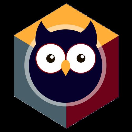 Night Owl Websites Logo 3d Cube By Imelda Sisneros Web Design Services Owl Affordable Websites