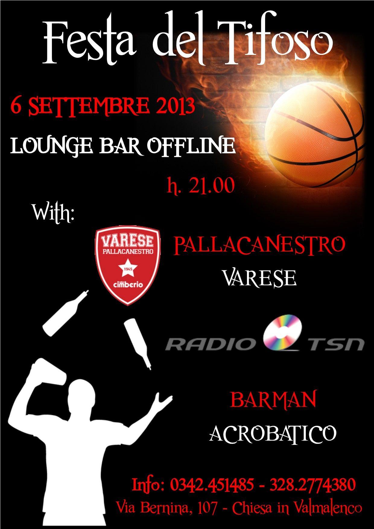 Seconda Festa del Tifoso in Valmalenco (SO) per la prima squadra della Serie A del Basket: il Varese.