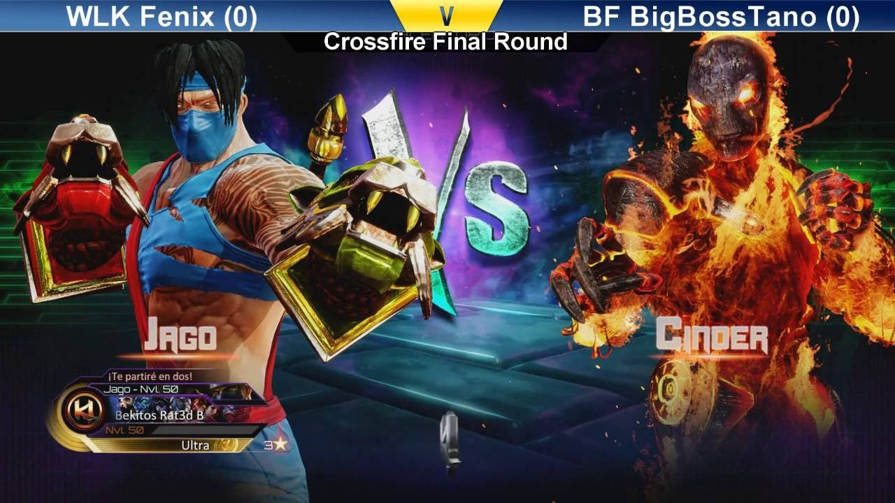 Crossfire Final Round Killer Instinct - WLK Fenix (Jago) vs BF BigBossTa...
