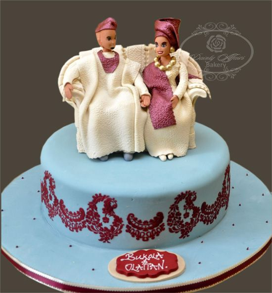 Naija Cake: Traditional Nigerian Wedding- Cake